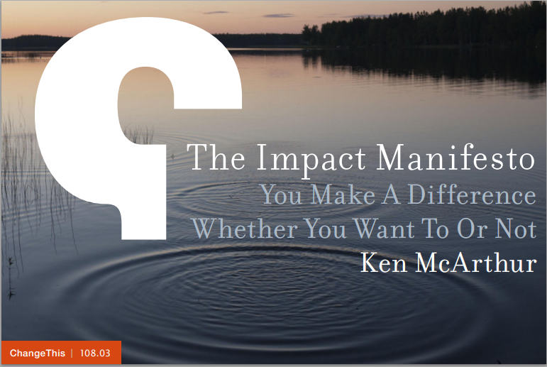 Impact Manifesto